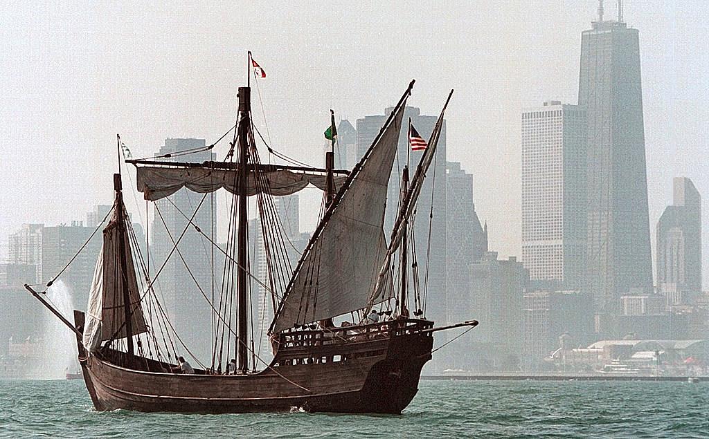 Tall Ships Sail and Parade into Chicago